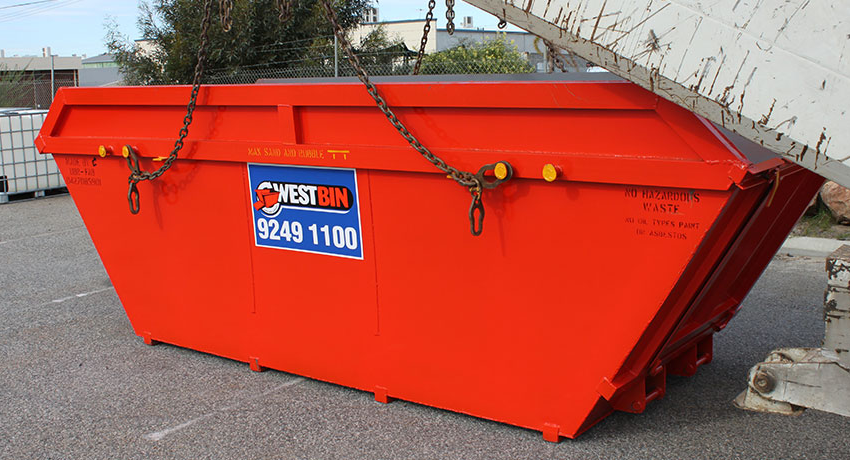 Skip bins for waste removal