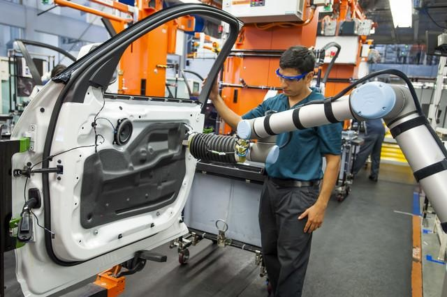 Advantages of Introducing Collaborative Robots into Diverse Factory Processes