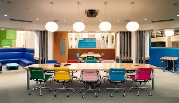 Color Psychology in The Office