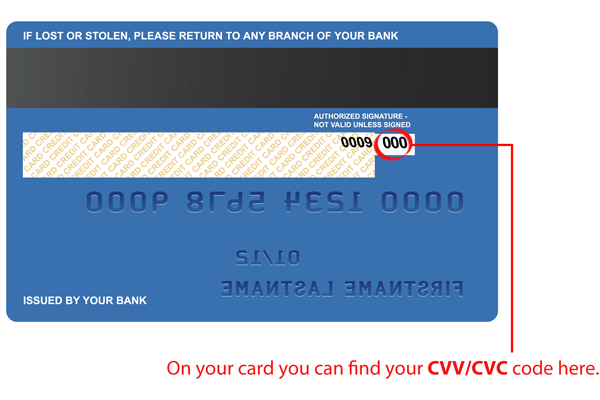 What is a Credit Card CVV Number and Where To Find It?