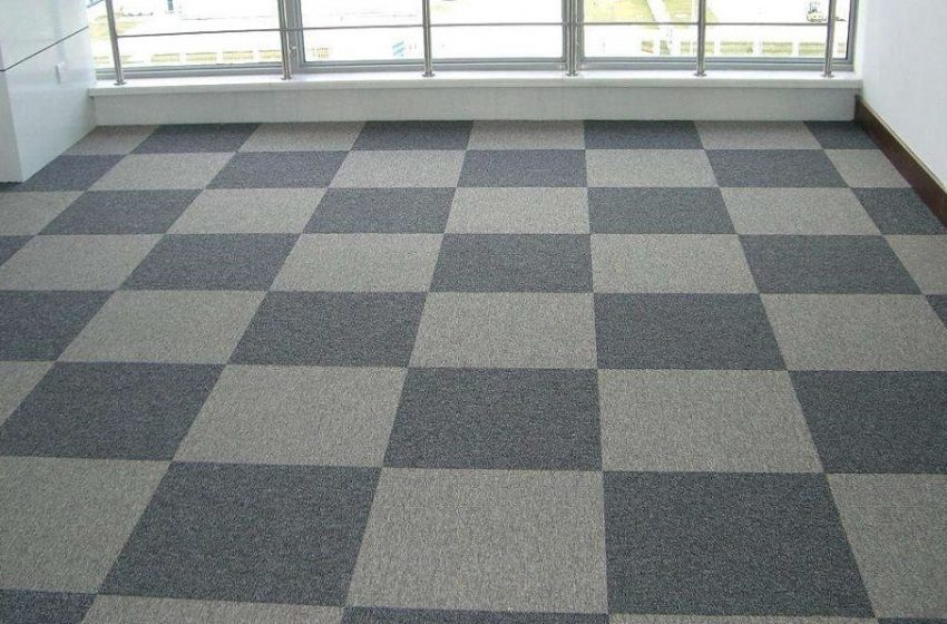 Give your office an elegant style with office carpet tiles